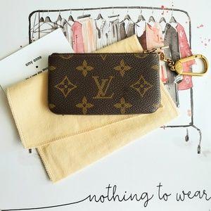 Louis Vuitton Key & Coin Pouch Monogram